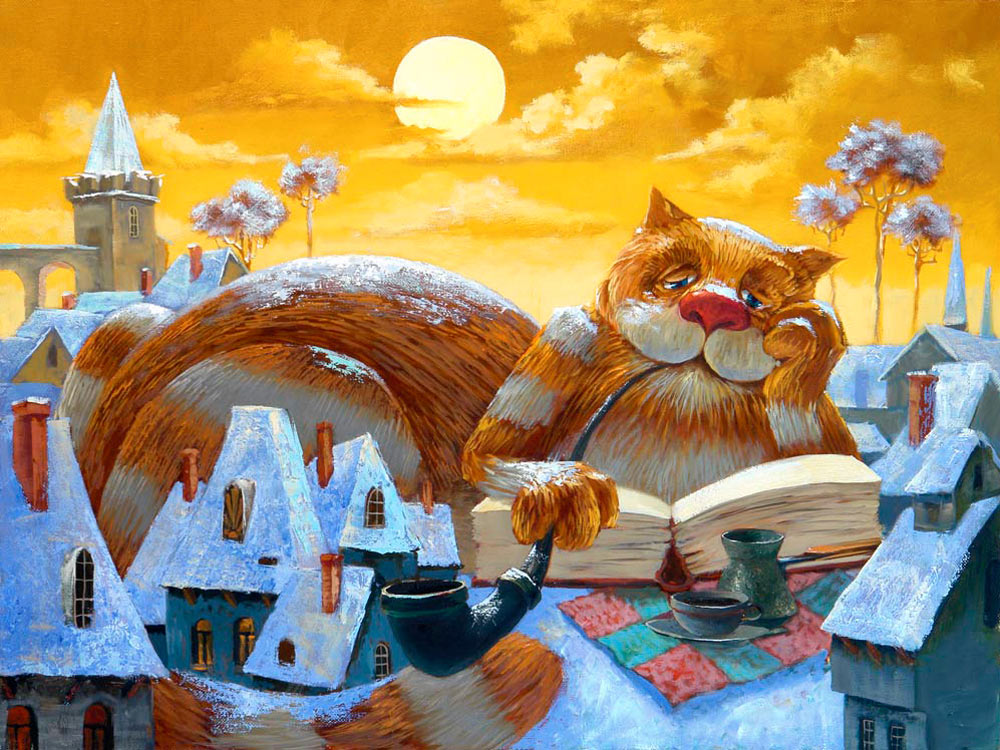 Картина фэнтези — купить картину в ...: www.gallery-tver.ru/paintings/fantasy-160.html