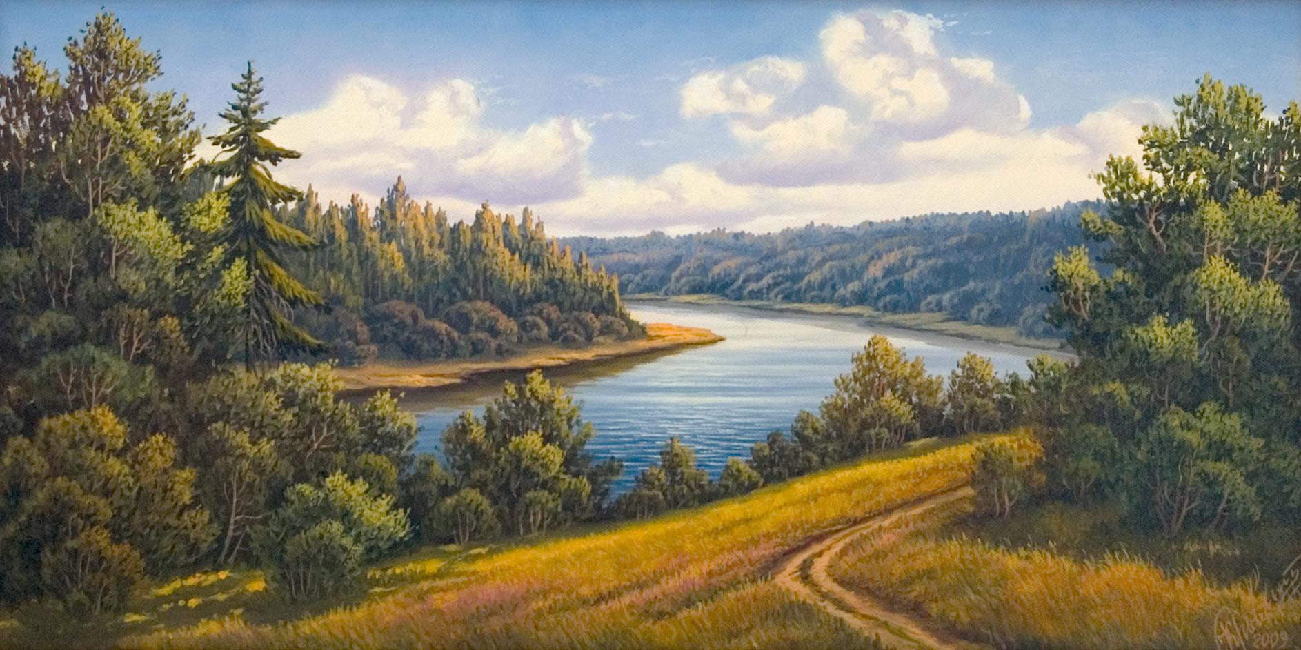 Цена : 14 000,00 руб Купить картину Картина ...: www.gallery-tver.ru/paintings/landscape-15.html